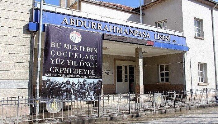 Anadolu'nun İlk Lisesi Abdurrahman Paşa Lisesi