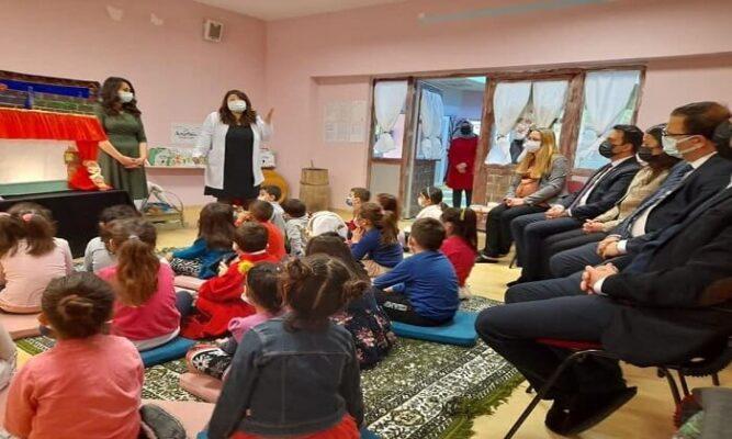 Azdavay Anaokulun da Masal Evi'nin Açılışı Yapıldı