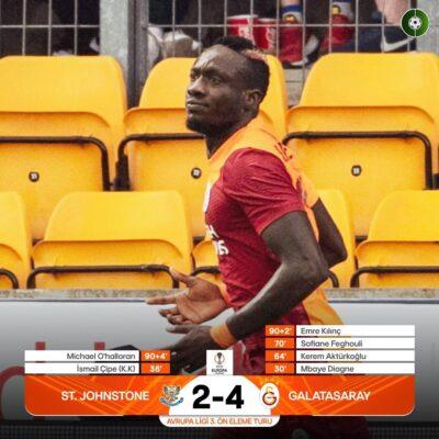 Galatasaray Uykudan Deplasmanda Uyandı