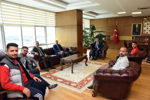 Türkiye Judo Federasyonu Başkanı Kastamonu Üniversitesi Rektörünü Ziyaret etti