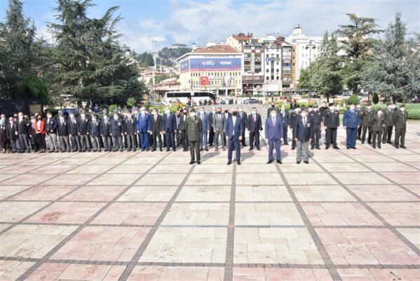 Kastamonu'da 19 Eylül Gaziler Günü Anma Programı Gerçekleştirildi