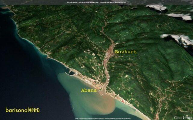 Kastamonu Bozkurt'ta sel felaketi ve nedenleri
