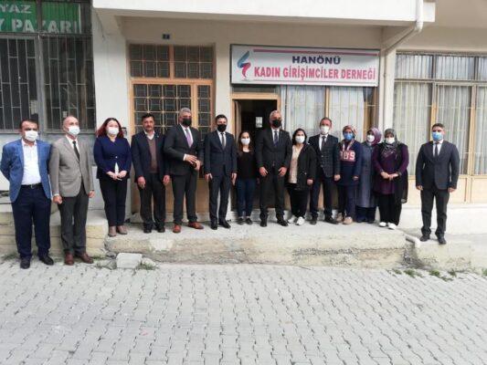 Vali Avni Çakır Hanönü'nde incelemelerde bulundu