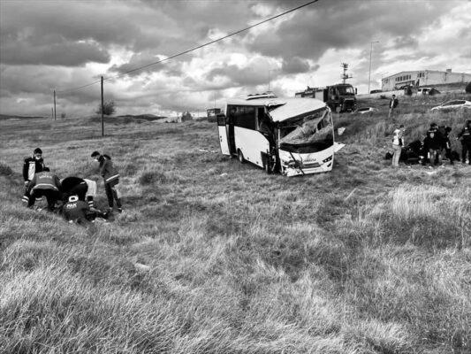 Kastamonu Seydiler'de Üzücü Kazada 12 polis yaralandı.