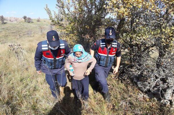 Jandarma Devreye Girdi Kayıp kadın Bulundu