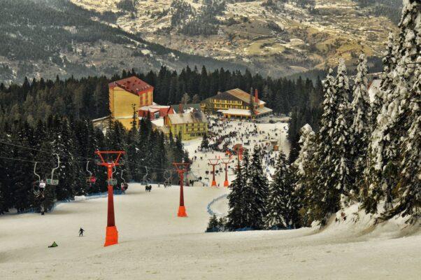 Kış Turizmi için Kastamonu Ilgaz Dağı Milli Parkı