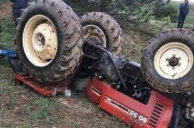 Kastamonu Trafik Kazası; Traktörün Altında Kalan Ceyhan DoğmuşHayatını Kaybetti